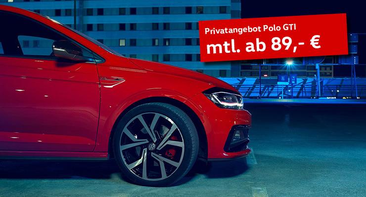 Polo Privat Sonderleasing ab 89 EUR mtl.